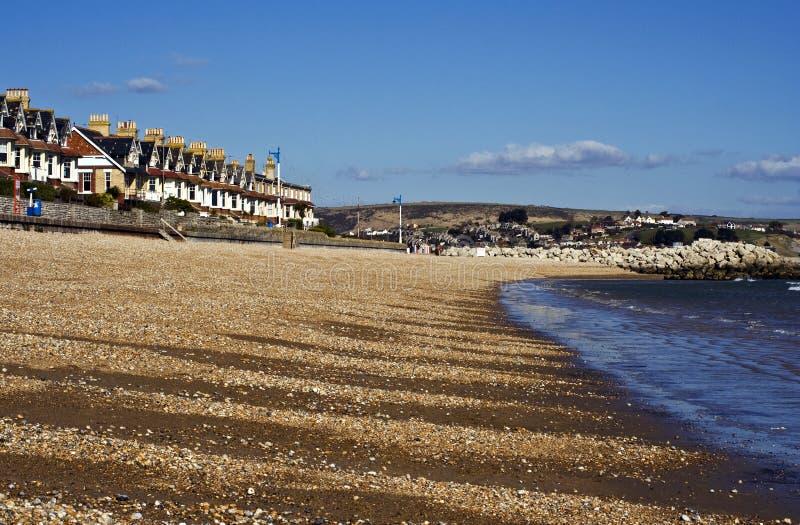 Frente marítima de Weymouth imagem de stock royalty free