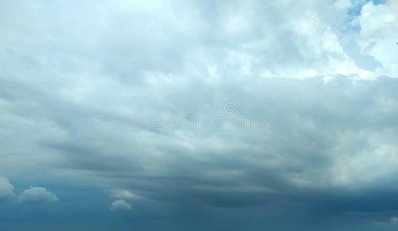 Frente tormentoso inminente fotografía de archivo libre de regalías