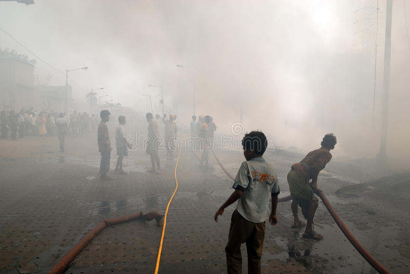 Frequent Fire At Slums Of Kolkata Editorial Stock Image