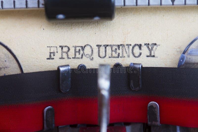 Frequenz stockbilder