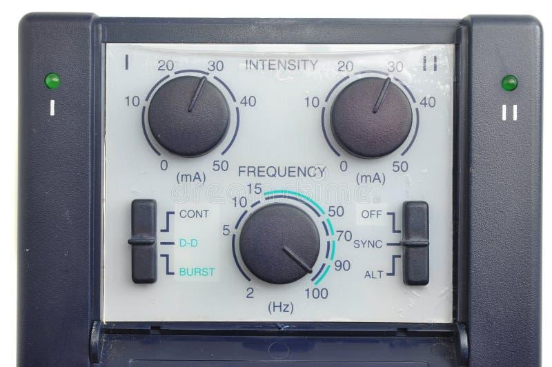Frequenz und Intensität stockfoto