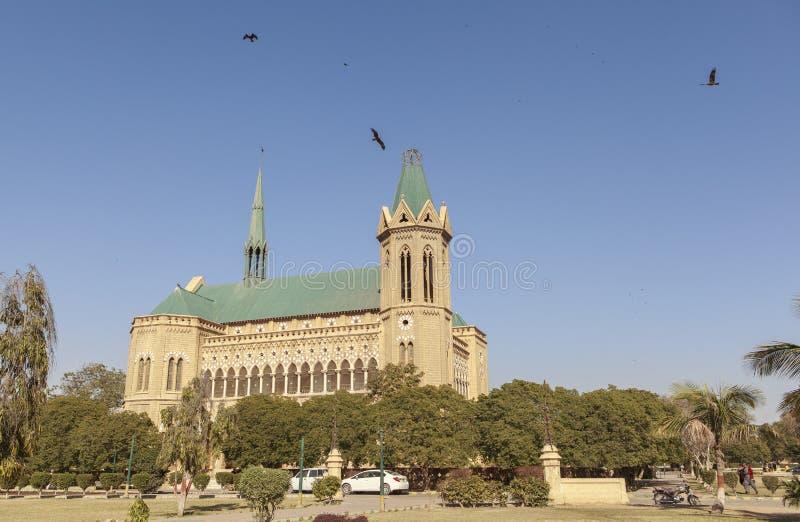 Frere Hall i Karachi, Pakistan arkivbild