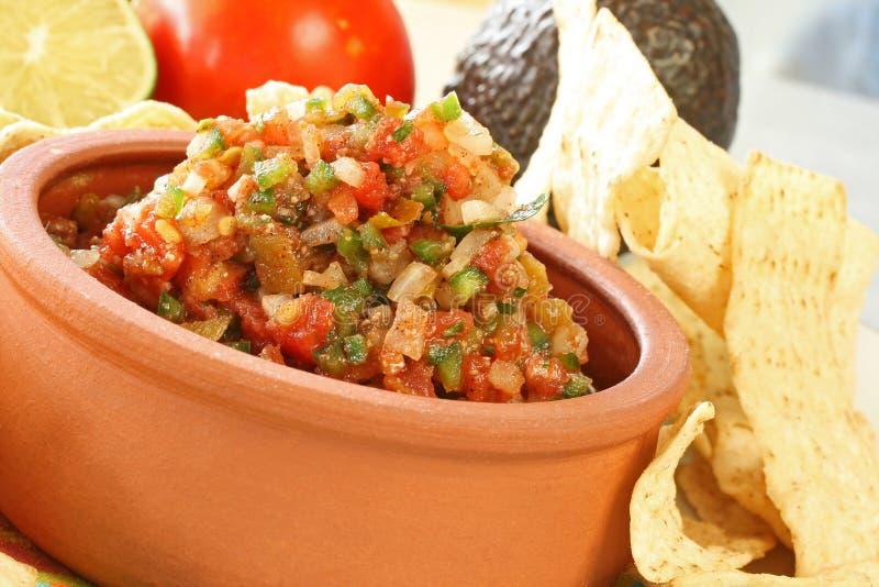 fresca salsa zdjęcia stock