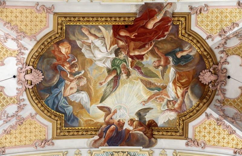 Fresco royalty free stock photos