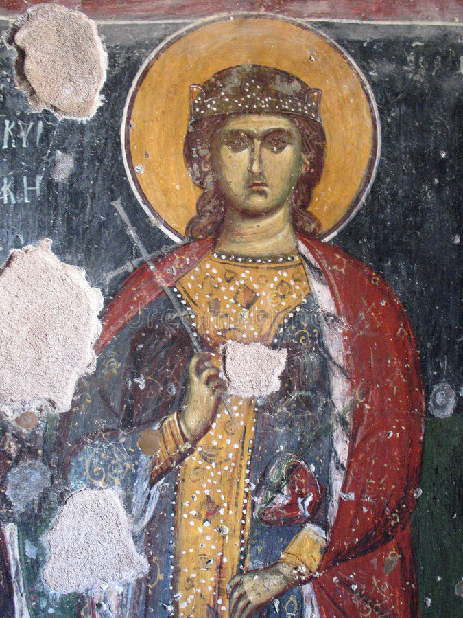 fresco royaltyfria bilder