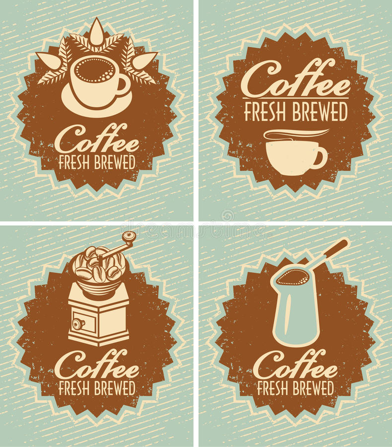 Fresco del caffè fatto royalty illustrazione gratis