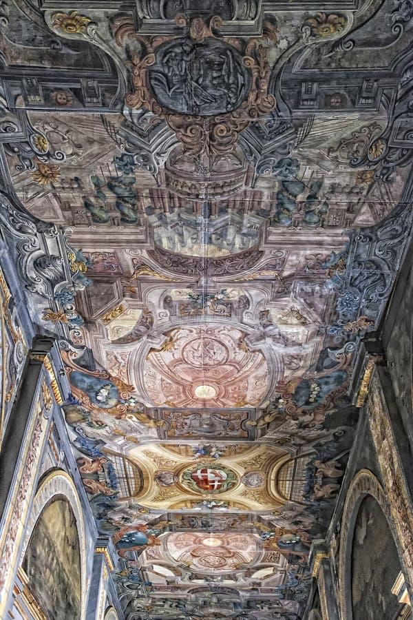 Fresco do palácio foto de stock royalty free