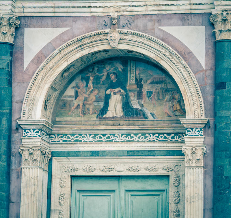 Fresco Florencia fotos de archivo