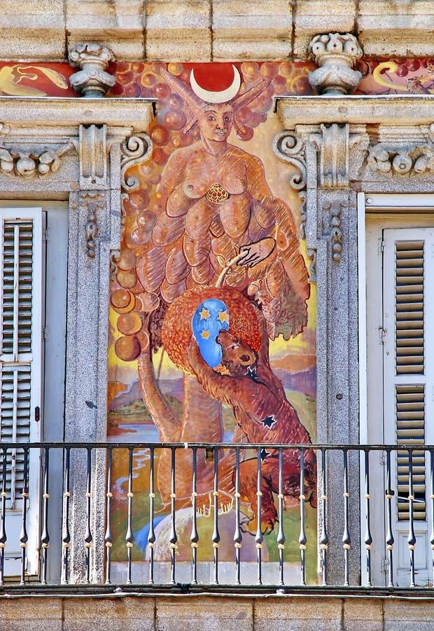 Fresco mural imágenes de archivo libres de regalías