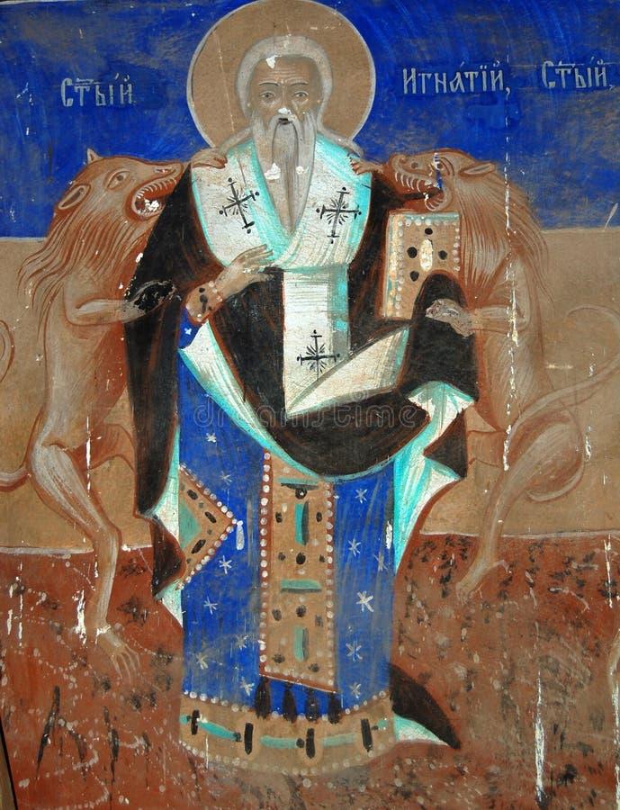 Fresco ortodoxo fotos de stock royalty free