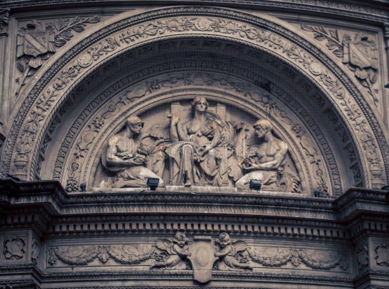 Fresco religioso Buenos Aires imagen de archivo libre de regalías