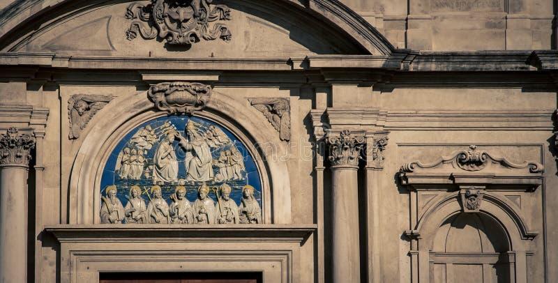 Fresco religioso Florencia imagenes de archivo