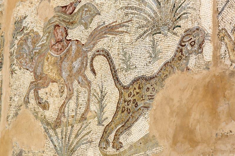 Frescoes na ruinach Carthage fotografia stock