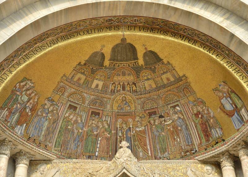 Frescos de St Mark imagen de archivo libre de regalías