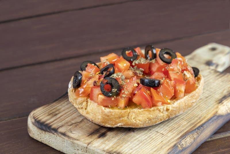 Freselle, ou friselle a séché le pain, nourriture italienne photographie stock