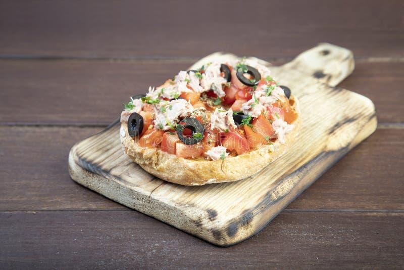 Freselle, ou friselle a séché le pain, nourriture italienne images stock