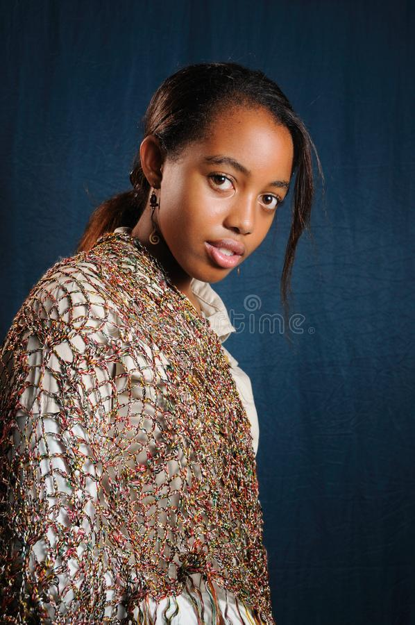 Fresh african beauty stock photography