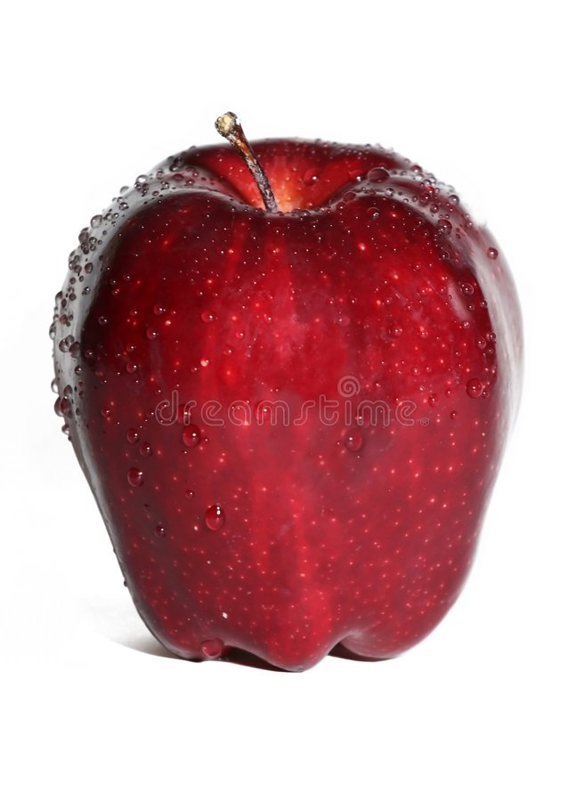 Fresh Apple royalty free stock photos