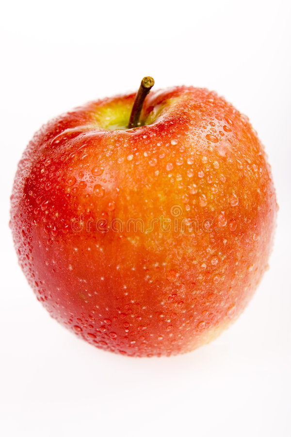 Fresh apple III stock images
