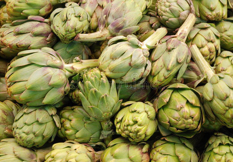 Download Fresh artichokes stock image. Image of produce, health - 3756243
