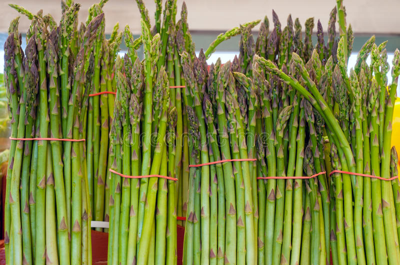 Download Fresh asparagus stock photo. Image of stems, bundle, diet - 25564664