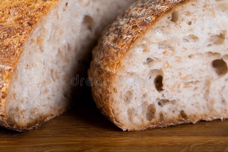 Fresh backed bread royalty free stock image