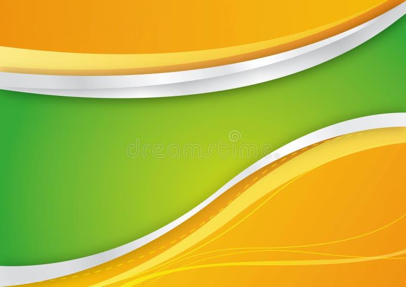 Fresh background vector illustration