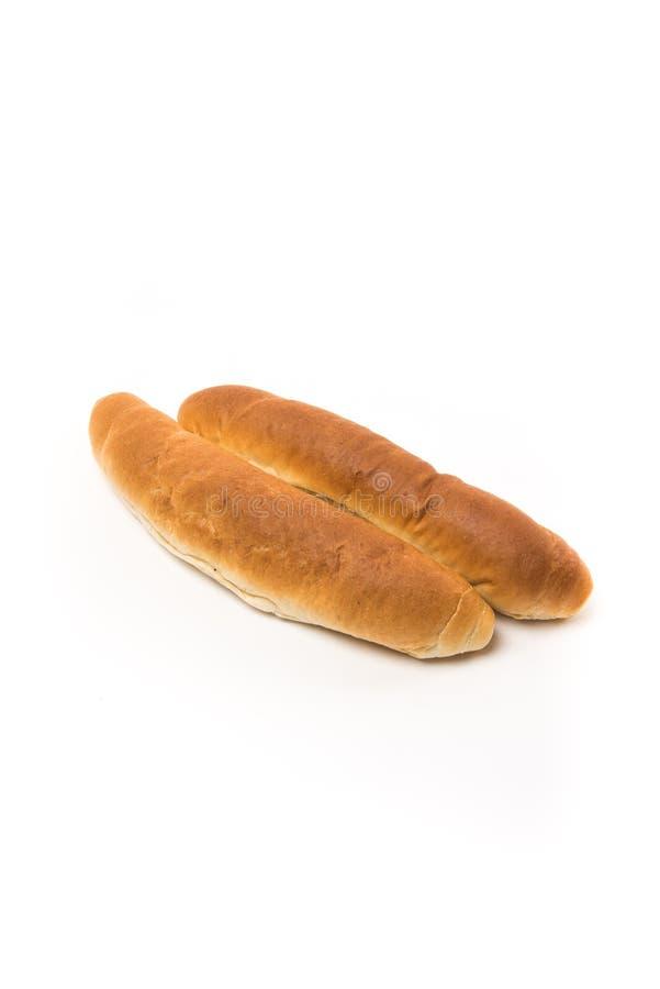 Fresh baked brown rolls stock photo