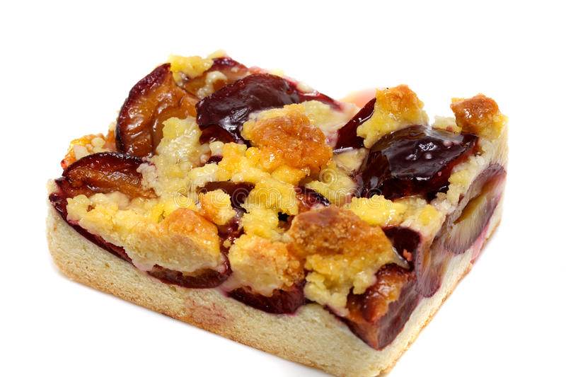 Download Fresh baked plum cake stock photo. Image of sugar, tart - 14851606