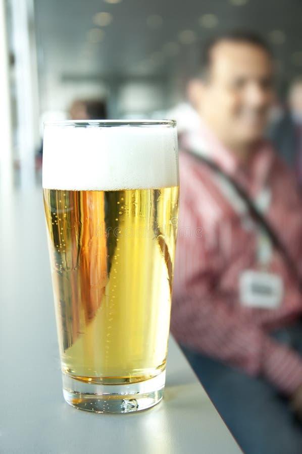 Fresh beer stock photography