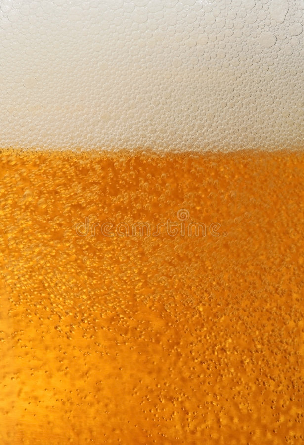 Fresh Beer Macro Royalty Free Stock Image