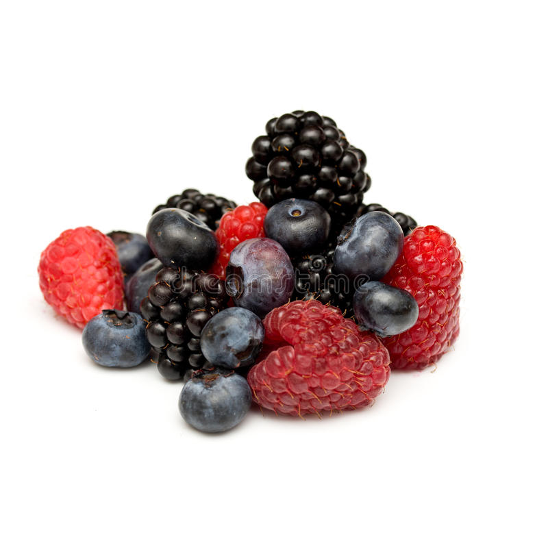 Download Fresh berries stock photo. Image of delicious, white - 15715080