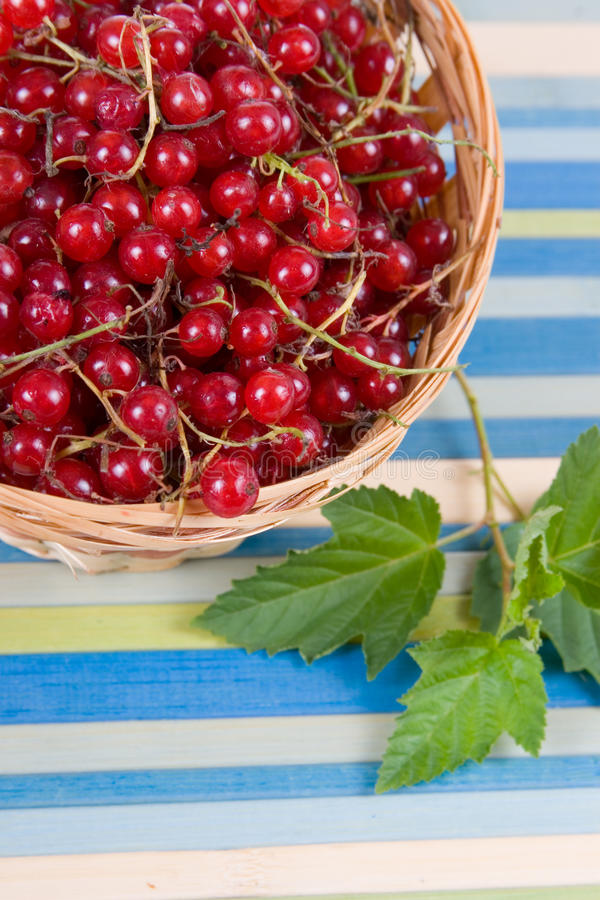 Download Fresh Berries In A Wicker Basket Stock Images - Image: 20620584