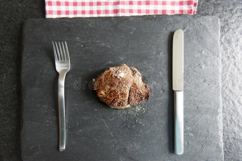 fresh bio range land filet beef royalty free stock image
