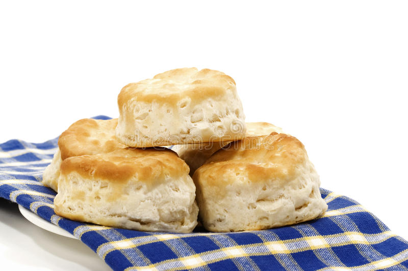Fresh Biscuits stock photos