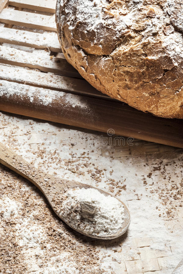 Download Fresh bread stock photo. Image of fresh, crust, bake - 23829556