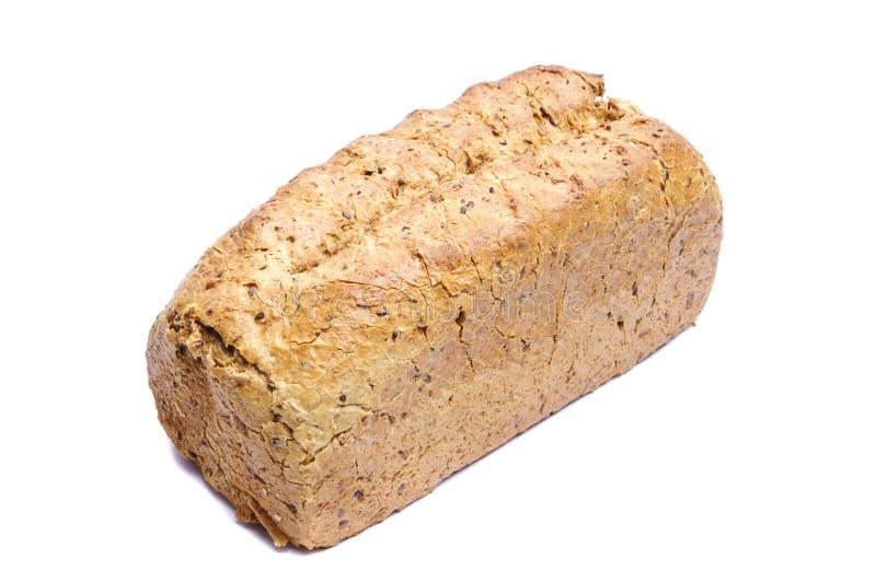 Fresh bread isolated on white royalty free stock photos