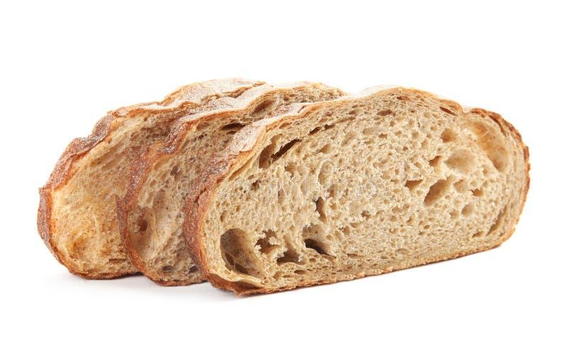 Fresh bread on white. Baked goods. Fresh bread on white background. Baked goods stock photos