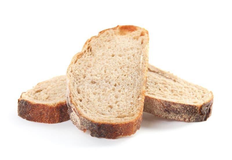 Fresh bread on white. Baked goods. Fresh bread on white background. Baked goods stock images