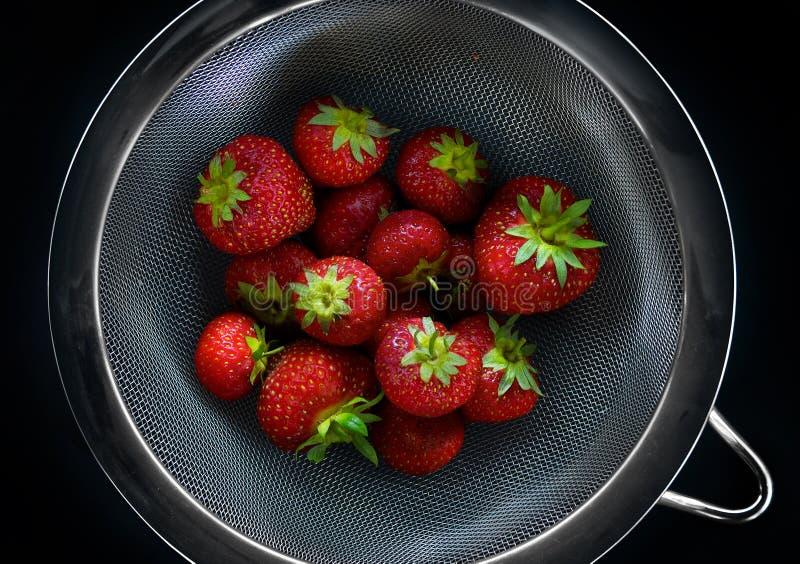 Download Fresh british strawberries stock image. Image of organic - 34302525