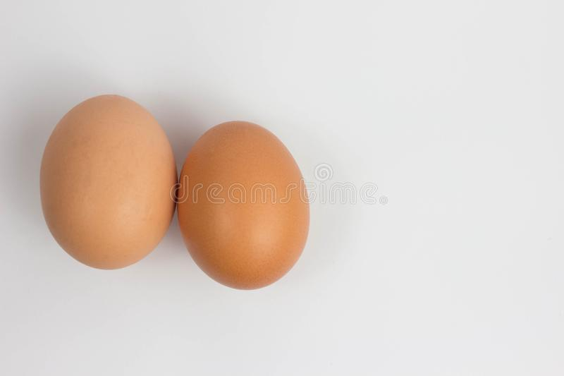 Fresh brown cage free eggs on burlap. Macro with shallow dof. Fresh brown cage free eggs on burlap. Macro with shallow dof still stock photos