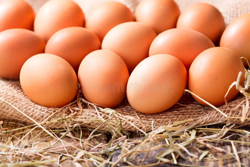 Download Fresh brown eggs stock image. Image of easter, organic - 70771993