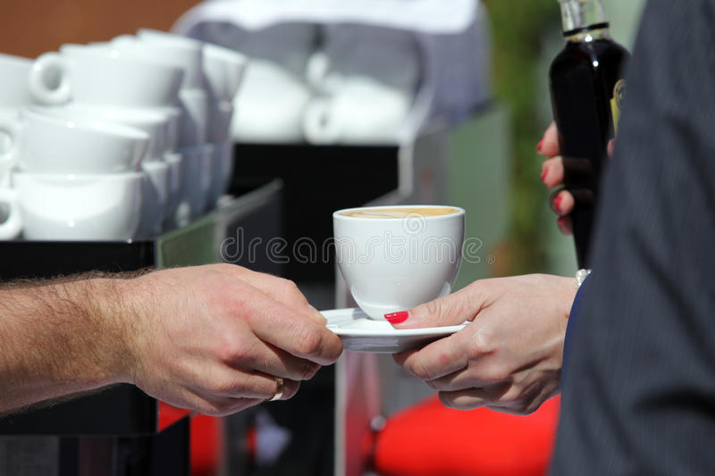 Download Fresh Cappuccino stock photo. Image of cappucino, woman - 25472394