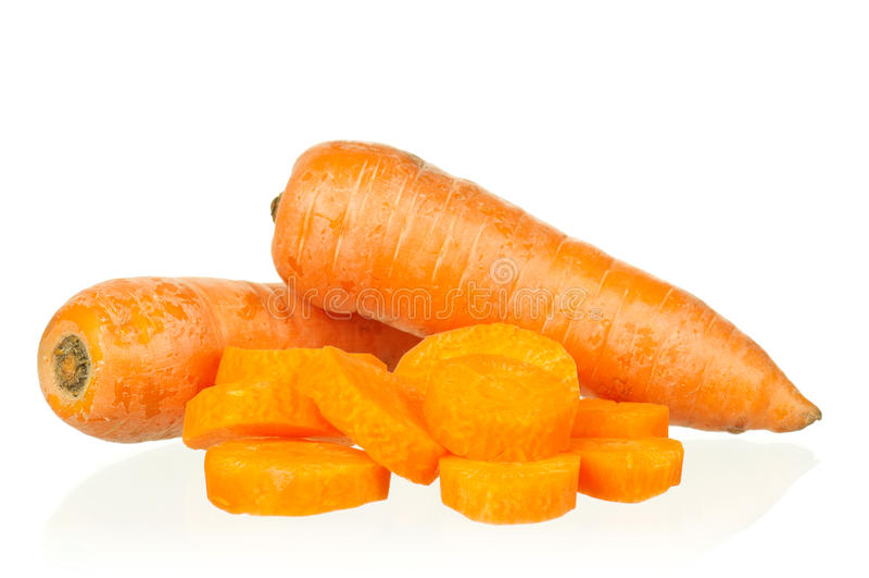 Fresh carrot royalty free stock image