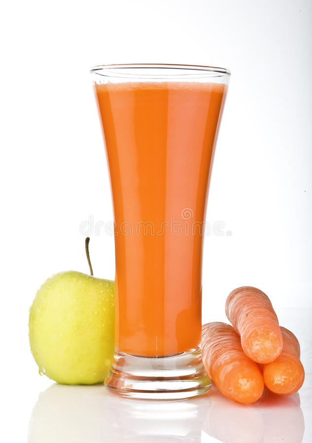 Free Fresh Carrot Juice Stock Images - 12493564