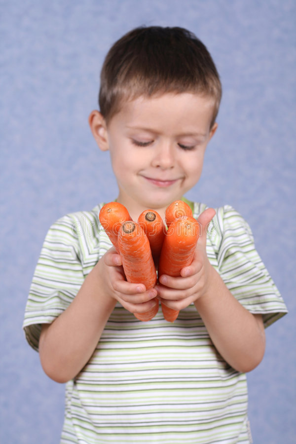 Download Fresh carrots stock image. Image of child, carrot, nutrition - 1409541
