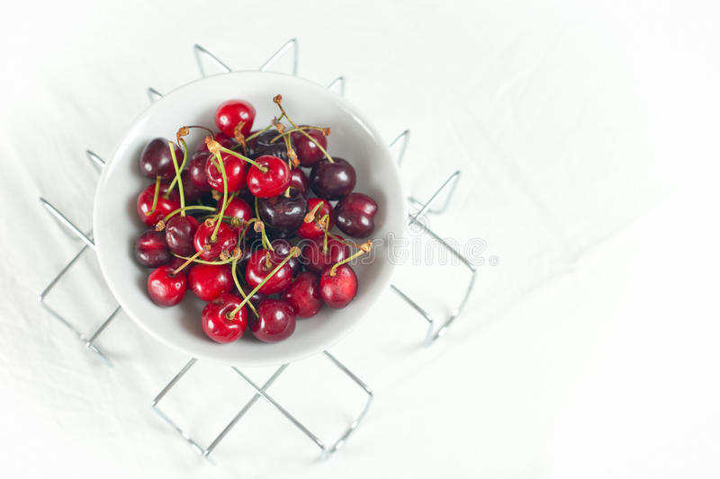 Download Fresh Cherries stock image. Image of shiny, color, juicy - 14649445