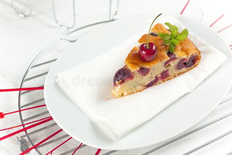 Download Fresh Cherries Cake stock photo. Image of cake, cherries - 14649490