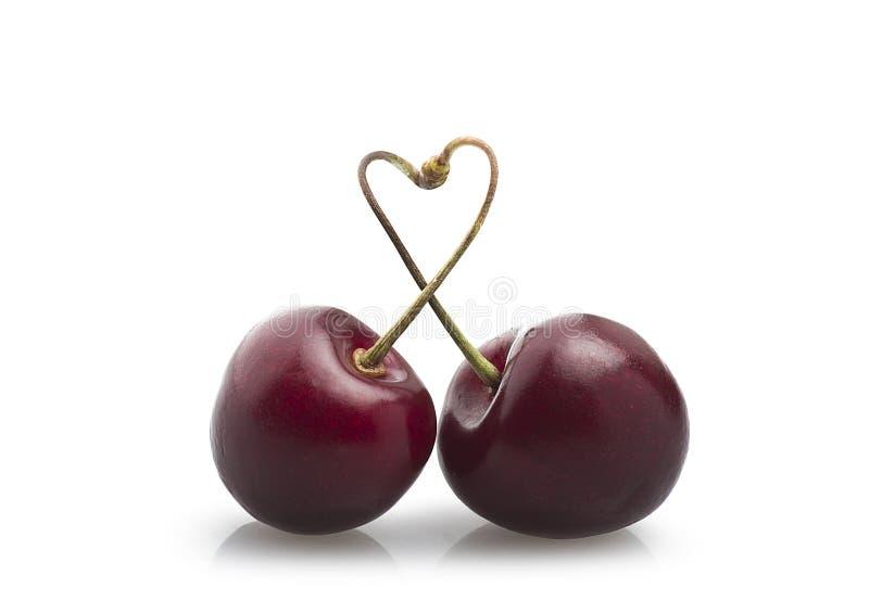 Fresh cherry stock photo