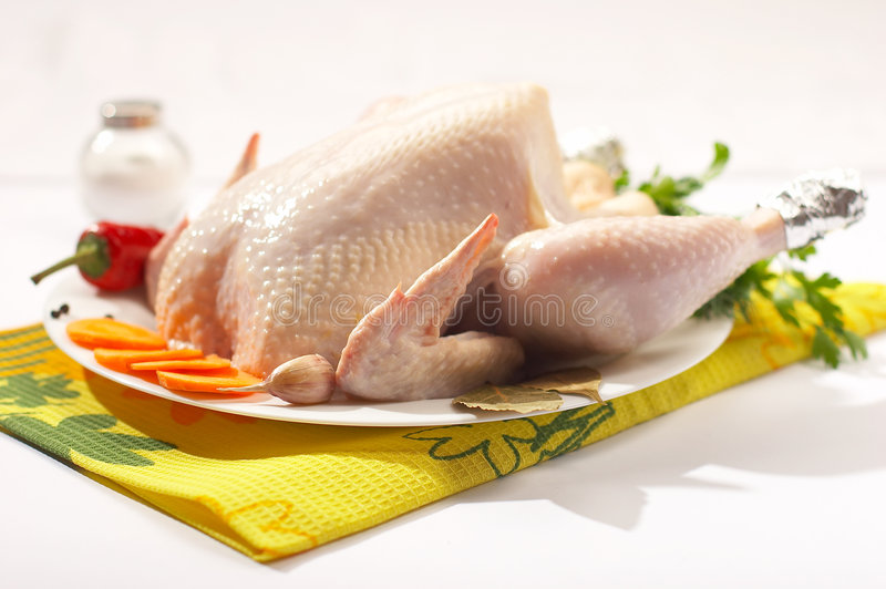 Fresh chicken royalty free stock images